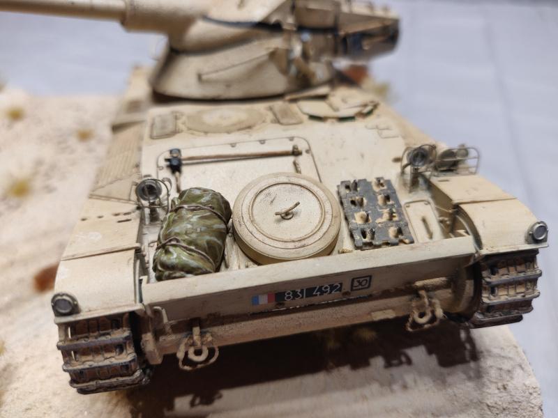 AMX 13/75 opération Mousquetaire Suez 1956 Takom 1/35 + Diorama Terminé Img_4231