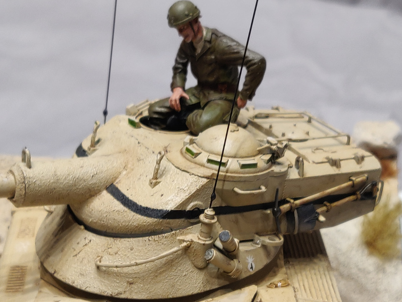 AMX 13/75 opération Mousquetaire Suez 1956 Takom 1/35 + Diorama Terminé Img_4232