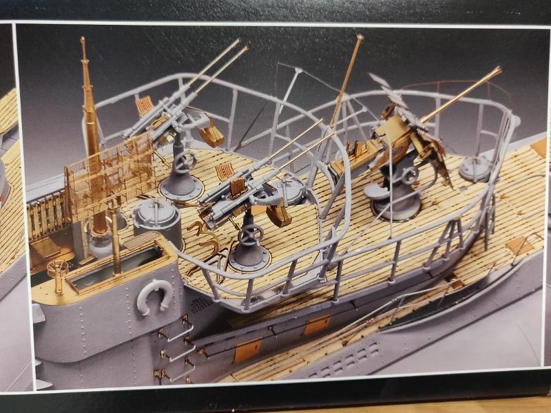 U-Boat VII C/41Revel 1/72 édition PlatiniumU 997 (Terminé) Img_4269