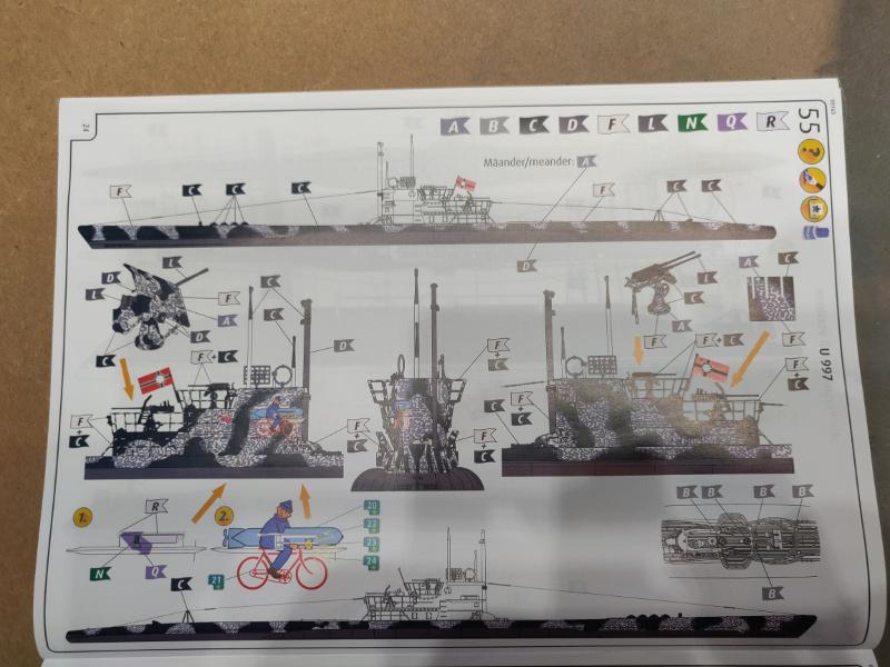 U-Boat VII C/41Revel 1/72 édition PlatiniumU 997 (Terminé) Img_4273