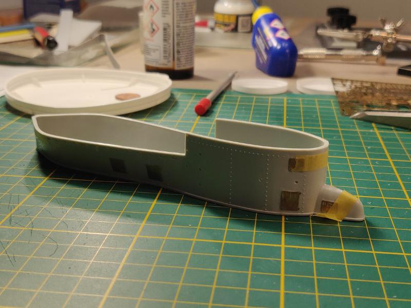 U-Boat VII C/41Revel 1/72 édition PlatiniumU 997 (Terminé) - Page 4 Img_4492