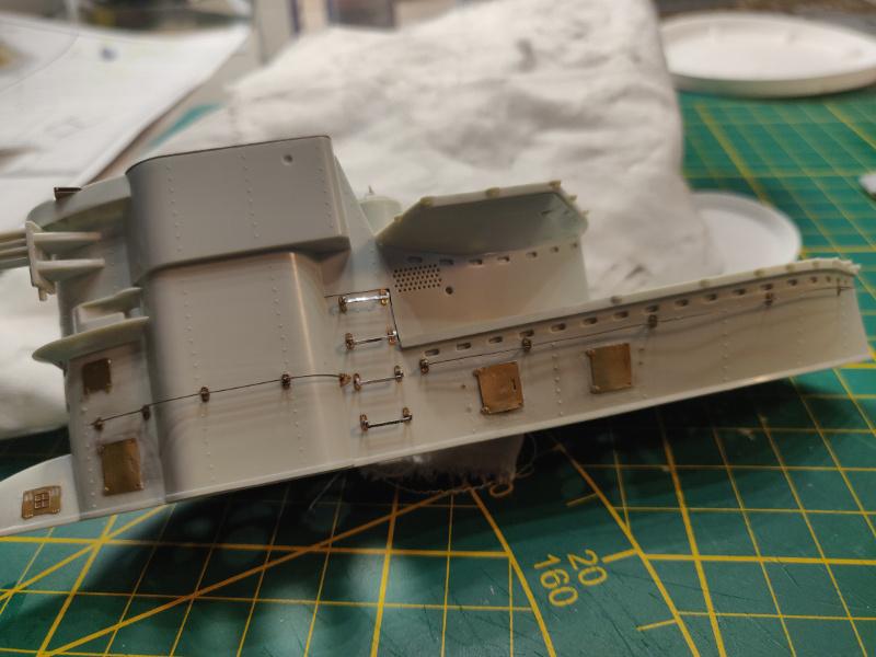 U-Boat VII C/41Revel 1/72 édition PlatiniumU 997 (Terminé) - Page 4 Img_4526