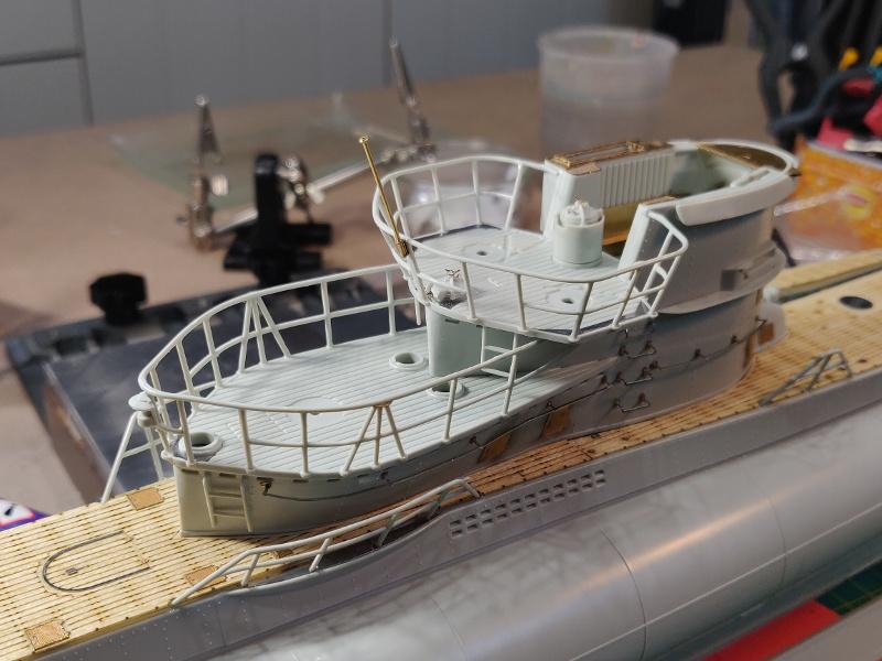 U-Boat VII C/41Revel 1/72 édition PlatiniumU 997 (Terminé) - Page 4 Img_4538