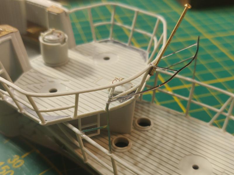 U-Boat VII C/41Revel 1/72 édition PlatiniumU 997 (Terminé) - Page 4 Img_4544