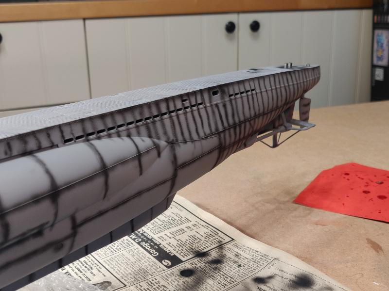 U-Boat VII C/41Revel 1/72 édition PlatiniumU 997 (Terminé) - Page 6 Img_4642