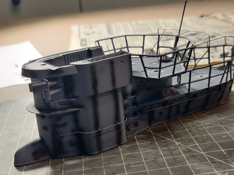 U-Boat VII C/41Revel 1/72 édition PlatiniumU 997 (Terminé) - Page 6 Img_4644