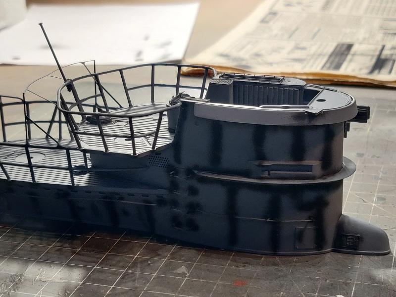 U-Boat VII C/41Revel 1/72 édition PlatiniumU 997 (Terminé) - Page 6 Img_4645
