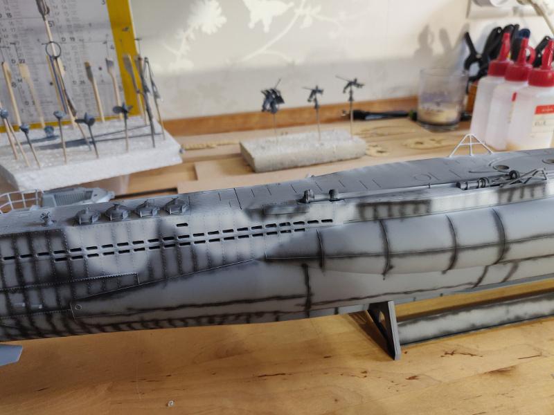 U-Boat VII C/41Revel 1/72 édition PlatiniumU 997 (Terminé) - Page 6 Img_4656