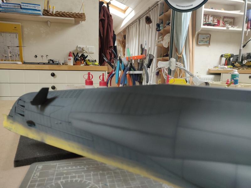 U-Boat VII C/41Revel 1/72 édition PlatiniumU 997 (Terminé) - Page 7 Img_4734