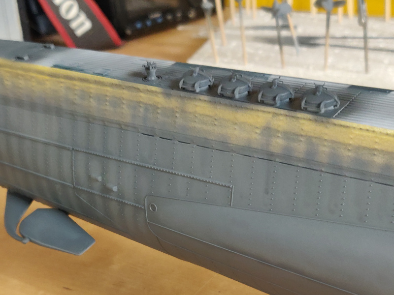U-Boat VII C/41Revel 1/72 édition PlatiniumU 997 (Terminé) - Page 7 Img_4738