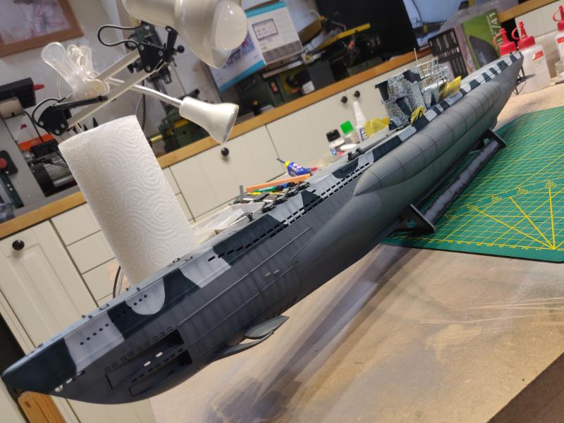 U-Boat VII C/41Revel 1/72 édition PlatiniumU 997 (Terminé) - Page 7 Img_4741