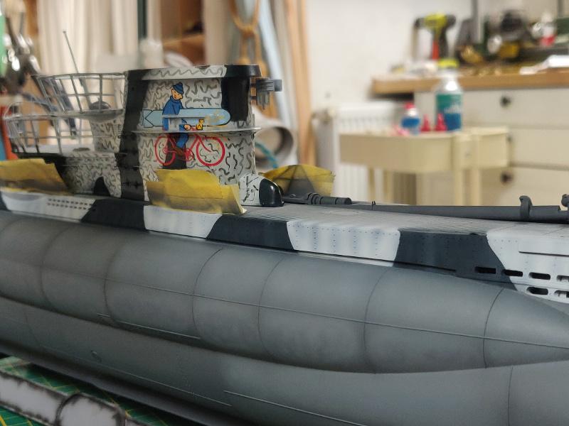 U-Boat VII C/41Revel 1/72 édition PlatiniumU 997 (Terminé) - Page 7 Img_4746