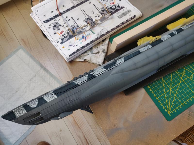 U-Boat VII C/41Revel 1/72 édition PlatiniumU 997 (Terminé) - Page 7 Img_4773