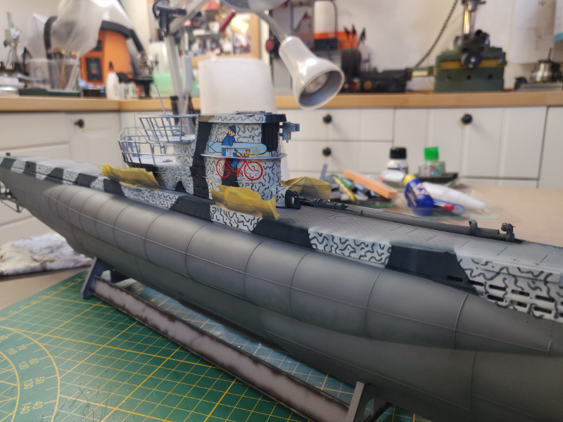 U-Boat VII C/41Revel 1/72 édition PlatiniumU 997 (Terminé) - Page 7 Img_4775