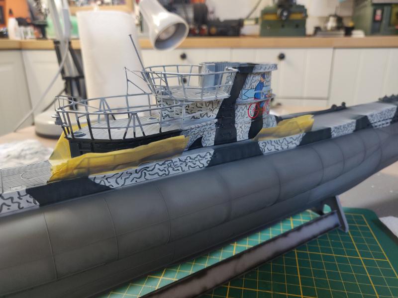 U-Boat VII C/41Revel 1/72 édition PlatiniumU 997 (Terminé) - Page 7 Img_4777