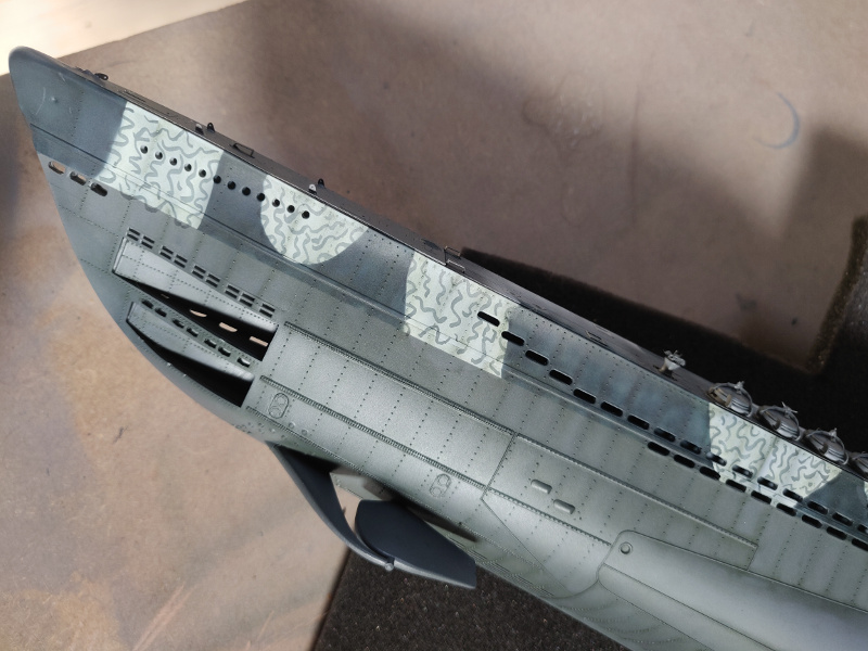 U-Boat VII C/41Revel 1/72 édition PlatiniumU 997 (Terminé) - Page 8 Img_4813