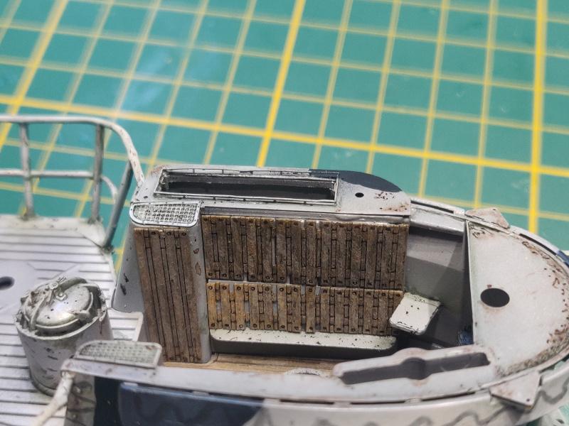 U-Boat VII C/41Revel 1/72 édition PlatiniumU 997 (Terminé) - Page 8 Img_4879