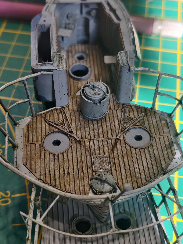 U-Boat VII C/41Revel 1/72 édition PlatiniumU 997 (Terminé) - Page 8 Img_4882