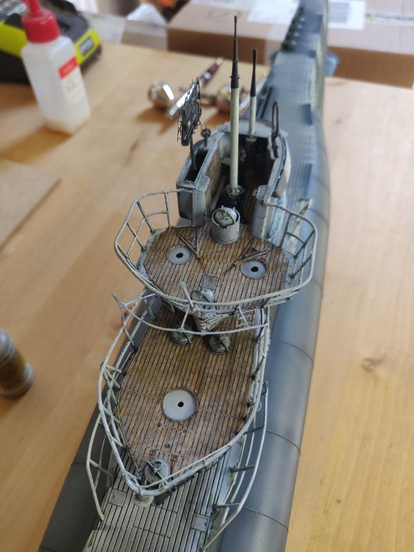 U-Boat VII C/41Revel 1/72 édition PlatiniumU 997 (Terminé) - Page 8 Img_4889