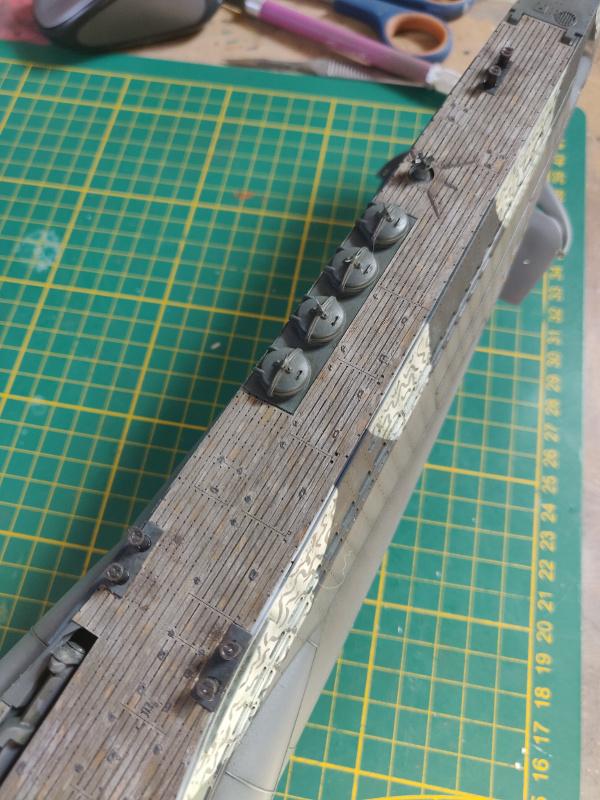 U-Boat VII C/41Revel 1/72 édition PlatiniumU 997 (Terminé) - Page 9 Img_5006