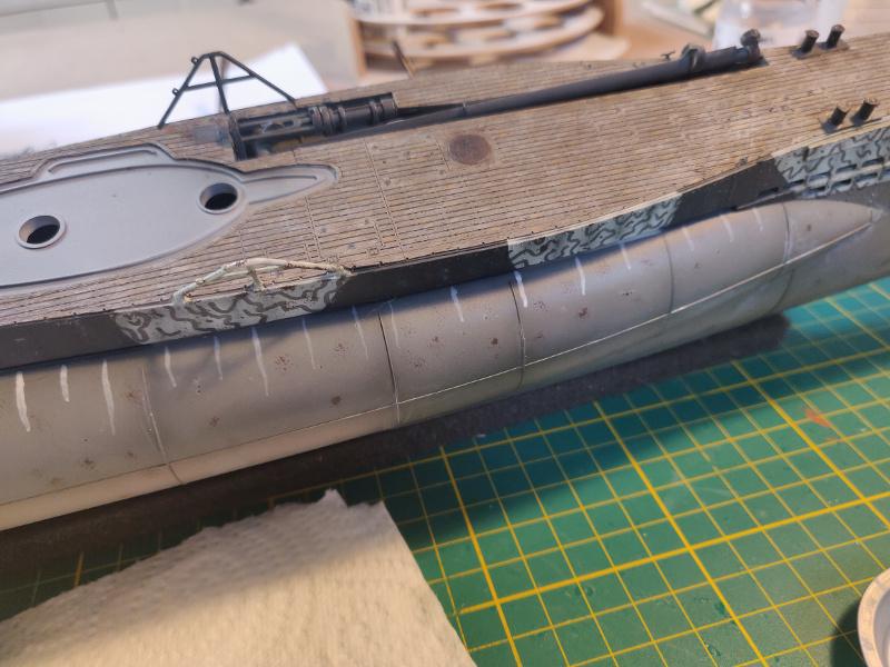 U-Boat VII C/41Revel 1/72 édition PlatiniumU 997 (Terminé) - Page 9 Img_5092