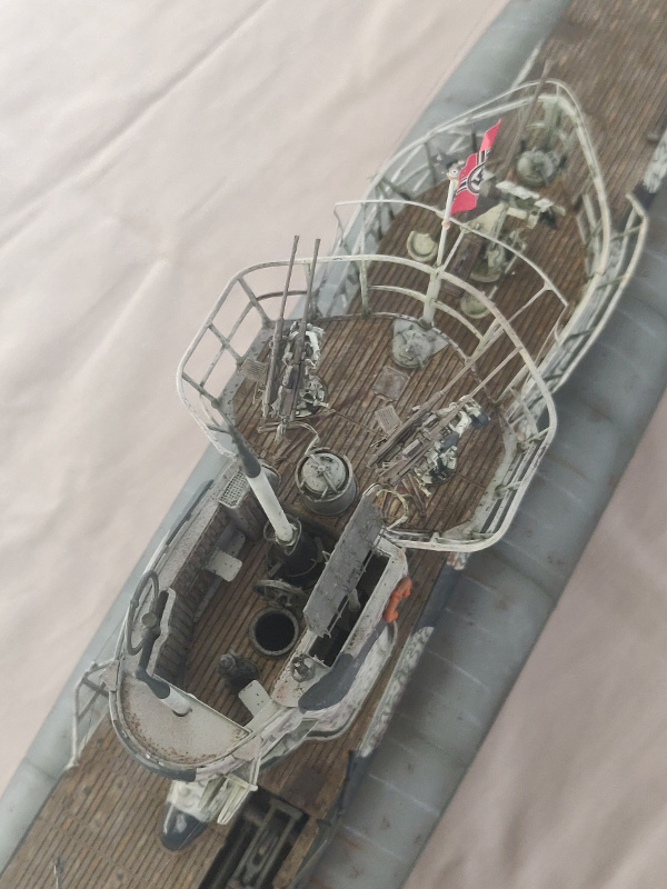 U-Boat VII C/41Revel 1/72 édition PlatiniumU 997 (Terminé) - Page 10 Img_5209