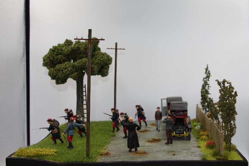 Diorama : Galiéni à la rescousse de l'armée Française 6 et 7 septembre 1914 Img_6733