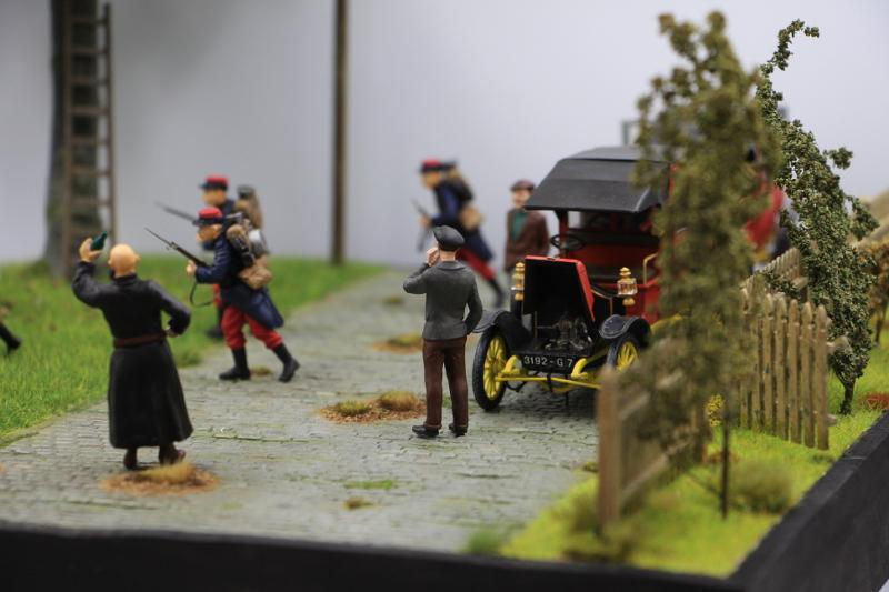 Diorama : Galiéni à la rescousse de l'armée Française 6 et 7 septembre 1914 Img_6738