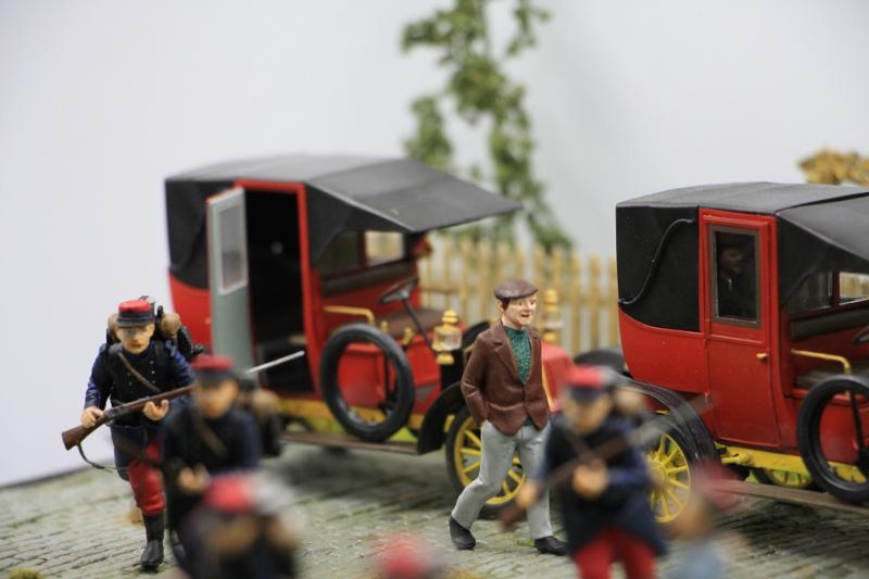 Diorama : Galiéni à la rescousse de l'armée Française 6 et 7 septembre 1914 Img_6743