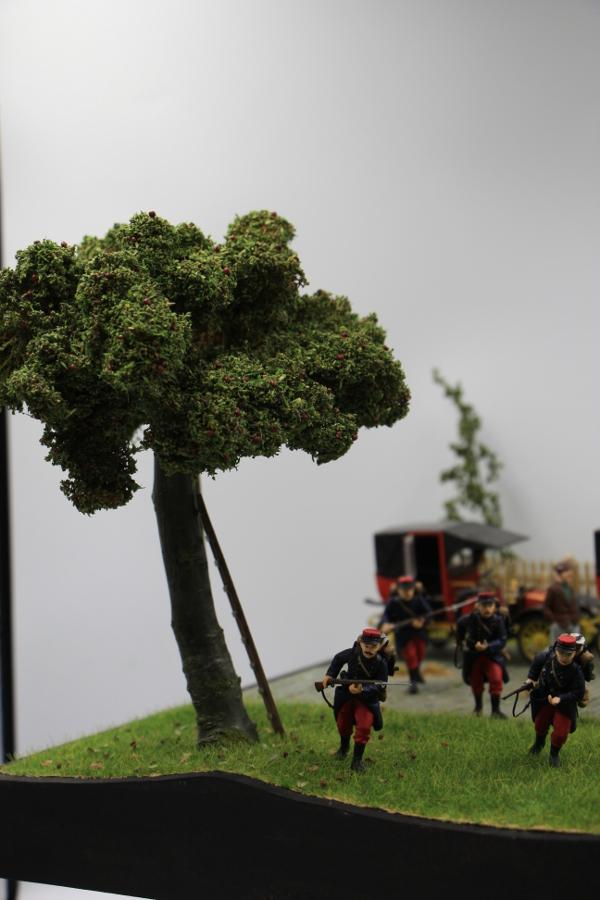 Diorama : Galiéni à la rescousse de l'armée Française 6 et 7 septembre 1914 Img_6744