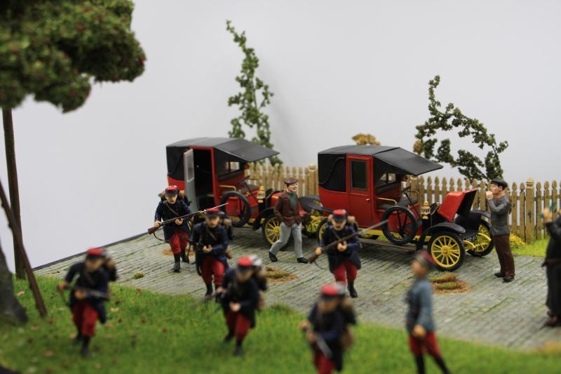 Diorama : Galiéni à la rescousse de l'armée Française 6 et 7 septembre 1914 Img_6745