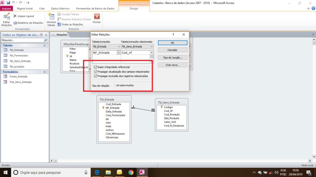 [Resolvido]Exlcuir dados de um sub formulários Relaci10