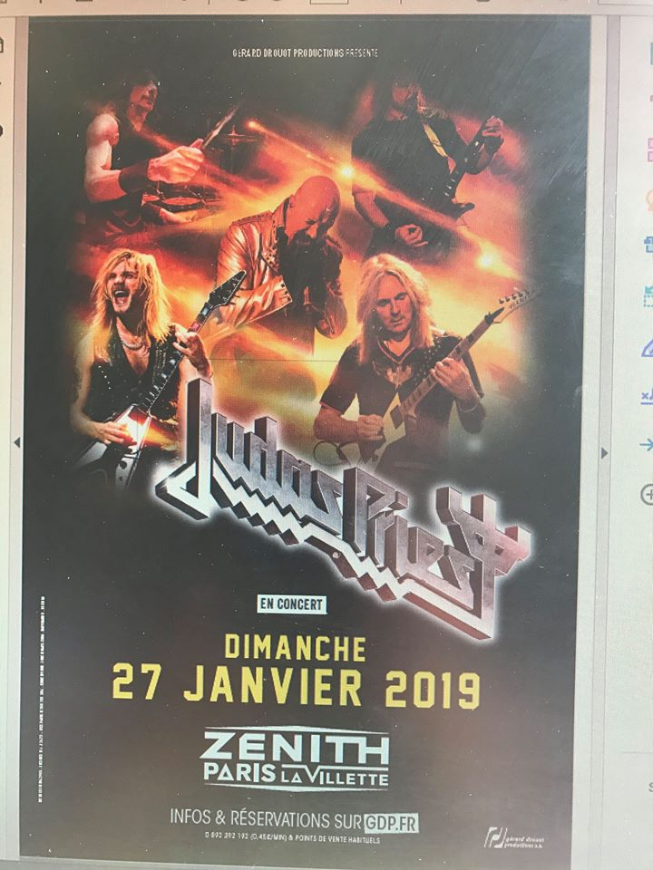 Judas Priest au zénith de Paris Judas10