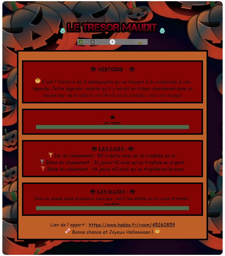 Le Trésor Maudit ! - Page 3 Sujet_26