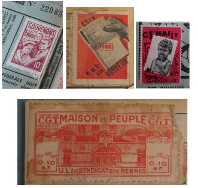 À identifier timbre 1945 10 Francs PENSEZ à EUX Captu418