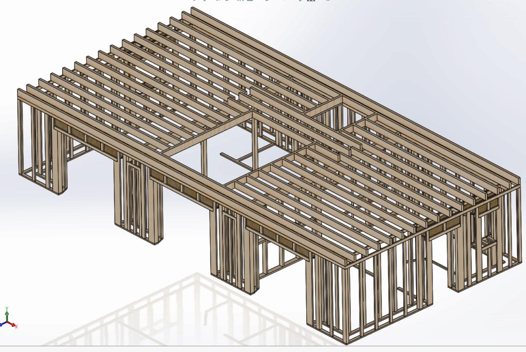 [Validation ossature] Solivage plancher // Solivage Toiture Ossatu16