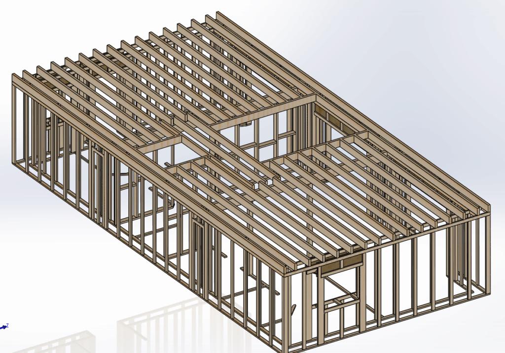 [Validation ossature] Solivage plancher // Solivage Toiture Ossatu17