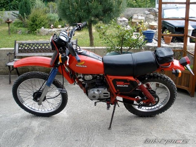 Evolution des :MONOCYLINDRES  HONDA 125  TRAIL 125_xr10