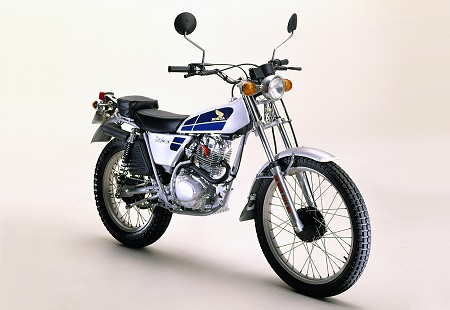 Evolution des : MONOCYLINDRES  HONDA 125  TRIAL Honda_13