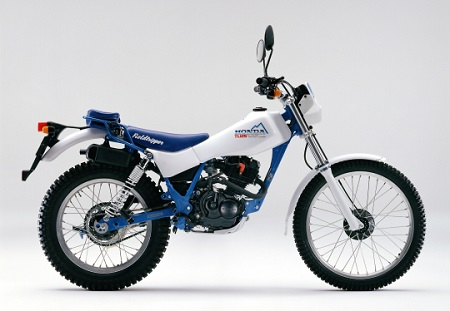 Evolution des : MONOCYLINDRES  HONDA 125  TRIAL Honda_14
