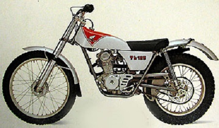 Evolution des : MONOCYLINDRES  HONDA 125  TRIAL Tl125k16