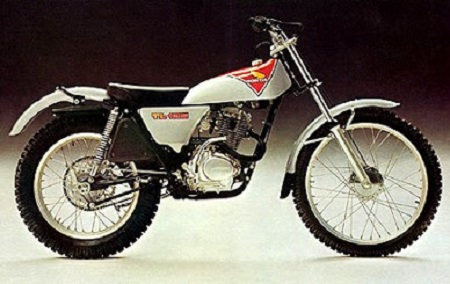 Evolution des : MONOCYLINDRES  HONDA 125  TRIAL Tl125k20