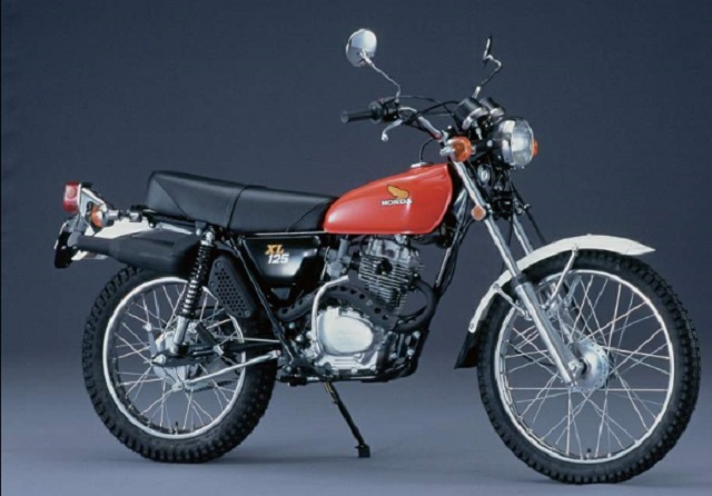Evolution des :MONOCYLINDRES  HONDA 125  TRAIL Xl_k210