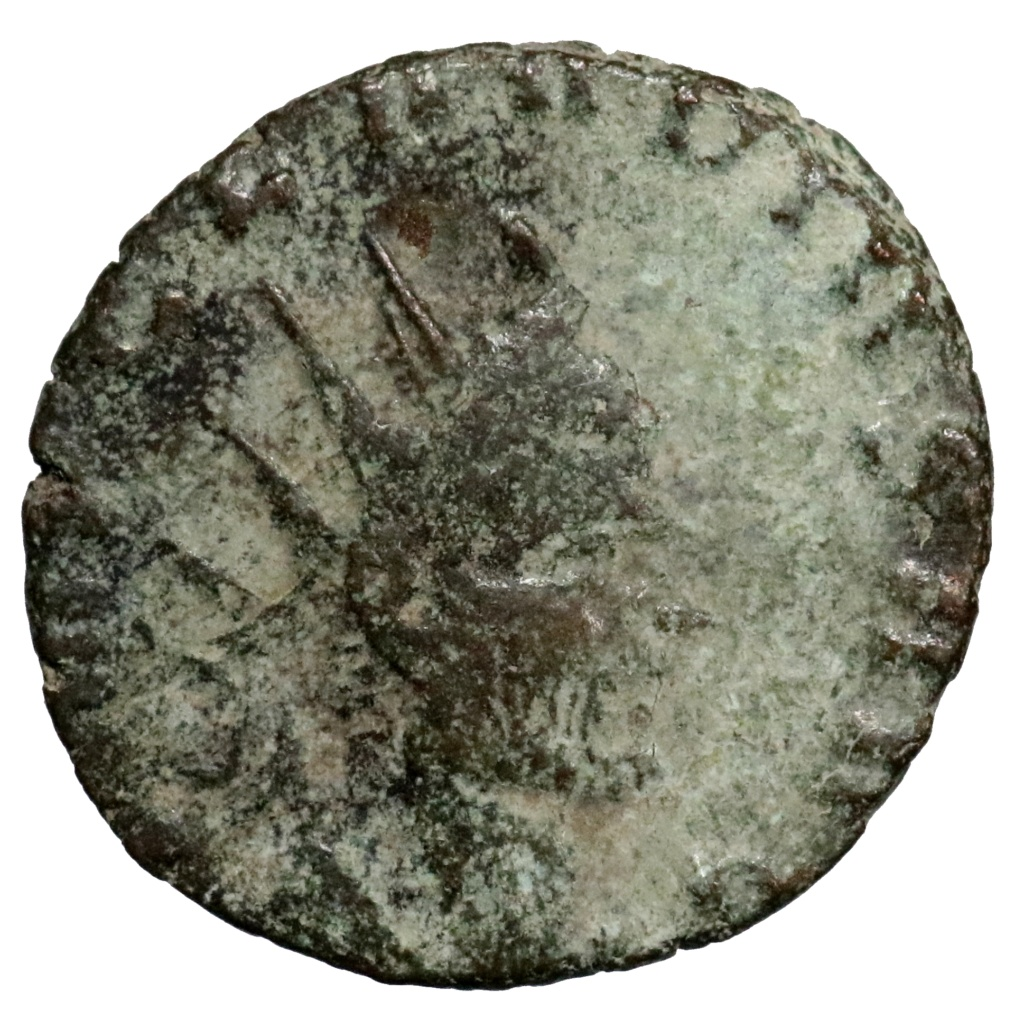 Antoniniano de Claudio II. LIBERT AVG. Roma. ¿LIMPIABLE? 0142710