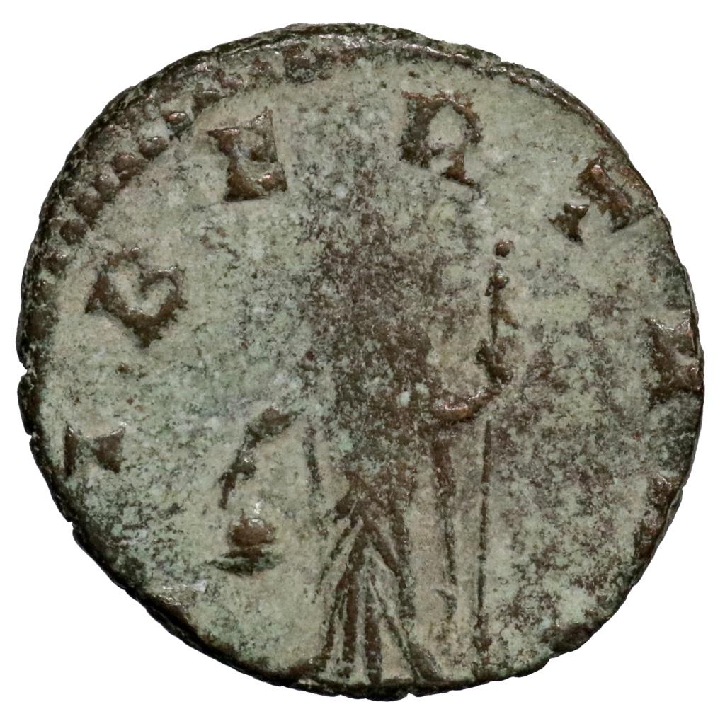 Antoniniano de Claudio II. LIBERT AVG. Roma. ¿LIMPIABLE? 01427_10