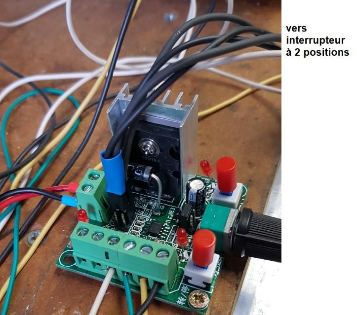 Utilisation simplifiée d'un moteur pas à pas Gi1110