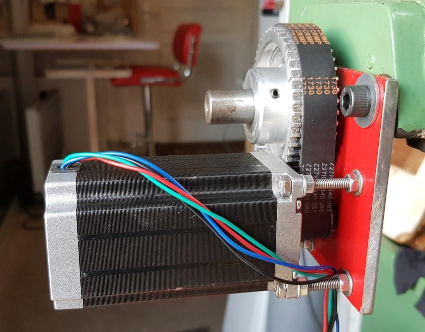 Utilisation simplifiée d'un moteur pas à pas Gi210