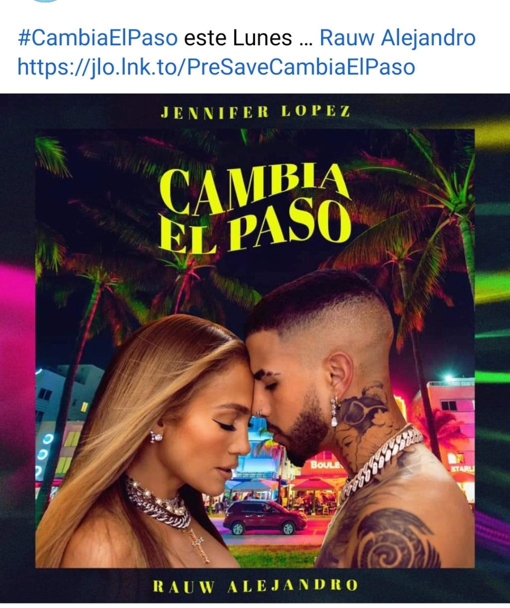 """Jennifer Lopez >> single """"Cambia el paso"""" (ft. Rauw Alejandro) - Página 11 Screen21"""