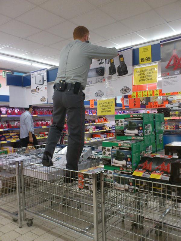 Trabajar por primera vez en centros comerciales o supermercados Sphel10