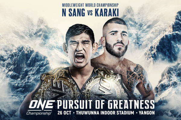 One Championship: Pursuit of Greatness - Resultados. 18102610